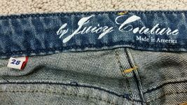 Juicy Couture Denim Jeans Low Rise Boot Cut Sz 28 x 34 NWOT image 4