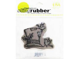 Stampendous Tweet Top Hat Rubber Cling Stamp #CRV226