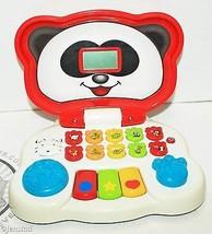 Vtech Animal Friends Toddler Kids Toy Laptop Talks Sounds Lights Up Used & Cl EAN - $9.88