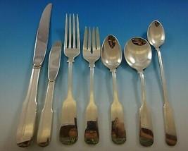 Old English Tipt by Gorham Sterling Silver Flatware Set 12 Dinner Service 90 Pcs - $8,100.00