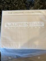New Ralph Lauren Spa Collection Organic Queen Flat Sheet 400 Thread Count - $39.99