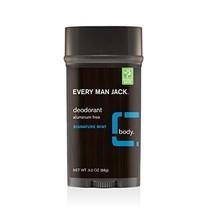 Every Man Jack Deodorant, Signature Mint, 3.0-ounce