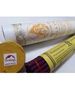 Zambala Himalayan Diety Large Tibetan Incense Sticks - $7.50