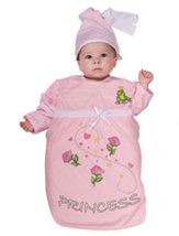 Pink Princess Baby Bunting Halloween Costume Size 0-9 Months  - $24.00
