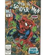 Web of Spiderman #70 ORIGINAL Vintage 1990 Marvel Comics Spider Hulk - $79.19