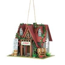 #10015391 *Cottage Winery Birdhouse* - £17.98 GBP