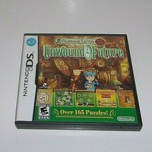 Professor Layton and the Unwound Future (Nintendo DS, 2010) - $13.46