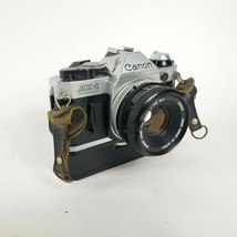 Canon AE-1 Program Camera with 50mm f1.8 Lens With Canon power winder  - $227.65