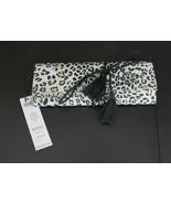 New Chicos NOSZ Jewelry Roll Travel Case Animal Print $49.00 - $27.23