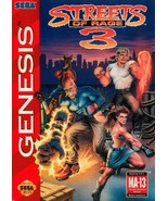 Streets Of Rage 3 Sega Genesis Great Condition Fast Shipping - $199.93