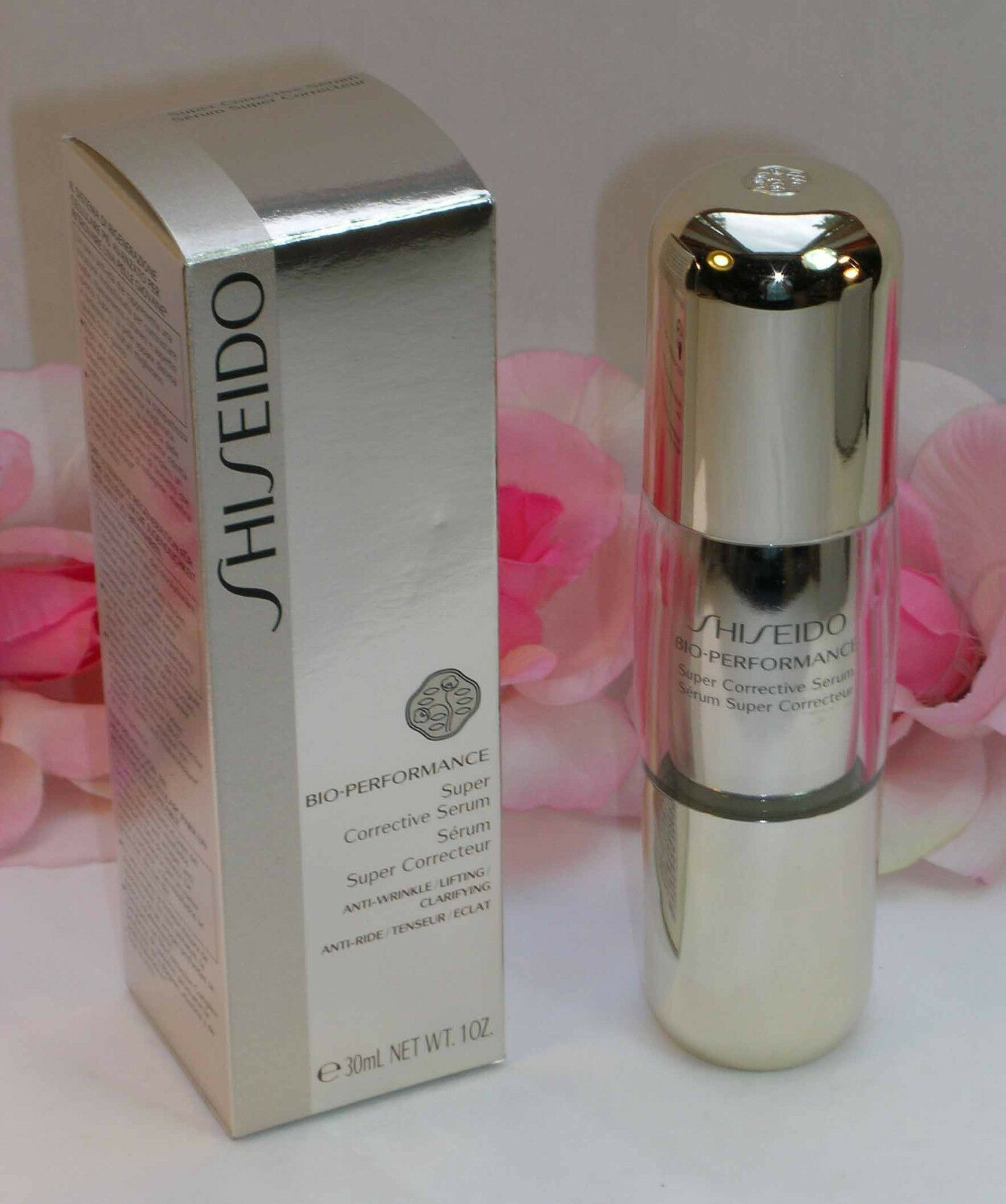 Primary image for New Shiseido Bio-Performance Super Corrective Serum 1 oz / 30 ml Full Size