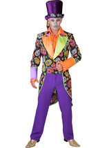 Day of the Dead / Voodoo / Sugar Skull Tailcoat  Jacket  XS- XXL - $40.00