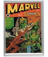 Marvel Mystery 5 NM- Appearance1940 Torch, Subby, 1st Schomberg Cov, Rare - $19,750.00