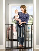 Easy Step Extra Tall Arched Décor Walk Thru Baby Gate, Includes 4-Inch E... - $103.99