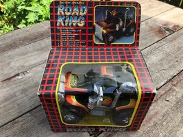 VTG 1986 ROAD KING Battery Operated Semi Cab Truck in Box GAF - $29.65