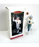 Vintage 1996 Hallmark Keepsake NFL Cowboys Football Legend Troy Aikman O... - $5.99