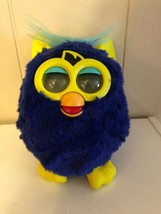2012 Interactive Furby A Mind Of Its Own Starry Night Blue Yellow Hasbro Working - $29.69