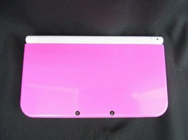 Nintendo 3DS LL console Pink x White Console only From Japan - $144.88