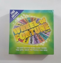 Wheel of Fortune 2nd Edition Board Game 2005 Pressman NEW SEALED - $18.69