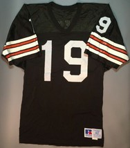 Vintage Bernie Kosar #19 Cleveland Browns Russell Athletic Football NFL ... - $47.45