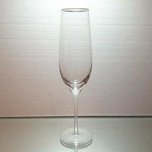 1 (One) LENOX ETERNAL GOLD Lead Crystal Champagne Flute w 24K Gold Trim-... - $18.04