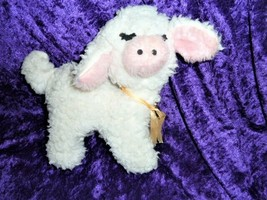 Vintage Stuffed Plush White Musical Wind Up Lamb Sheep Lullaby Mary Had ... - $59.39