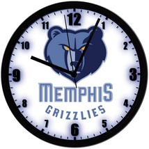 "Memphis Grizzlies LOGO Homemade 8"" NBA Wall Clock w/ Battery Included - $23.97"
