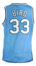 Larry Bird #33 College Basketball Jersey Sewn Blue Any Size image 2