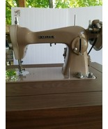 Vintage NELCO sewing machine 37486 And Table rare made in JAPAN - $247.50