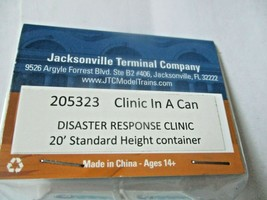 Jacksonville Terminal Company # 205323 Clinic In A Can  20' Standard Container image 2