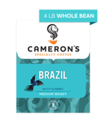 CAMERON'S WHOLE BEAN BRAZIL 4LB PACKAGE - $44.46