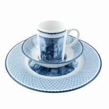 Harry Potter Johnson Brothers Set Dinner Plate Coupe Cereal Bowl Mug Blu... - $115.00