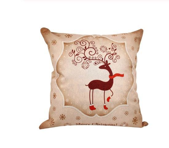 Primary image for  Merry Christmas Decoration For Home Santa Claus Reindeer Pillow Case - 40-5