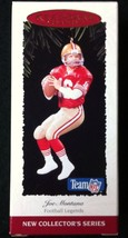 1995 Hallmark JOE MONTANA First In Series Football Legends 49ers #1 - MIB - $8.95