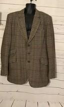 Hardy Aimes VIntage Scotch Tweed Wool~Blazer Sport Coat Jacket Mens 42R - $45.00