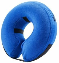 Inflatable Pet Collar, Protective Collar for Wound Healing Recovery, Size Medium