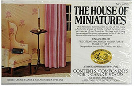 X-Acto House of Miniatures 40013 - Queen Anne Candle Stand VINTAGE NIB - $3.95