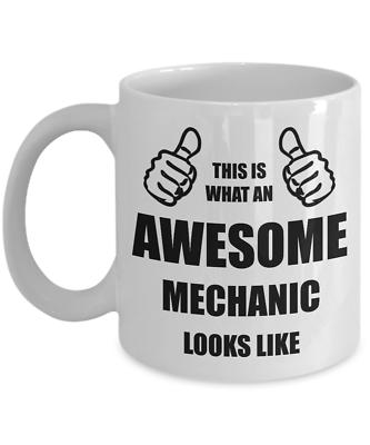 Funny Birthday Gift For Mechanic Dad Husband Boyfriend Brother Friend Him Mug