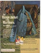 1975 Marlboro Cigarettes & The Range Jacket Advertisement - $16.00