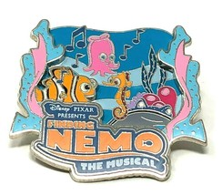 Disney Pixar Finding Nemo the Musical 3D Pin Seahorse Collector Trading Pin - $15.83