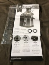 Jack LaLanne Fusion Juicer Model SHL90-1 Replacement Part:  Gaskets & Ma... - $4.32