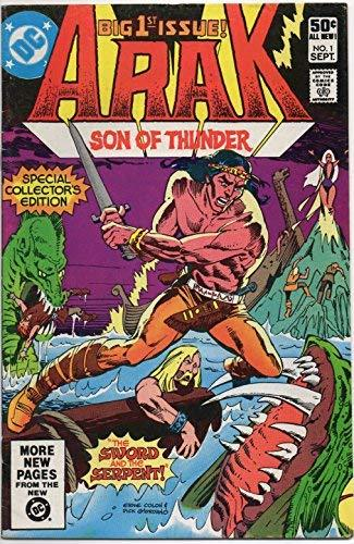 Arak Son of Thunder #1 (The Sword and the Serpent, Vol. 1) Special Collector's E
