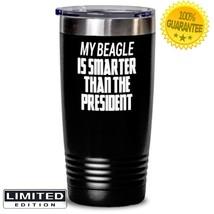 Beagle Dog Mom Insulated Tumbler Puppy Coffee Mug Stainless Steel Travel... - $31.34+
