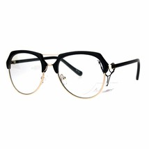Vintage Retro Fashion Clear Lens Glasses Womens Designer Style Eyewear - $11.95