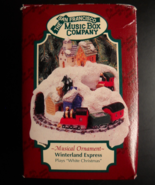San Francisco Music Box Company 1997 Winterland Express White Christmas ... - $11.99
