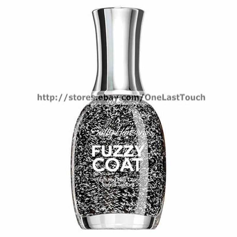 SALLY HANSEN Textured FUZZY COAT Nail Polish/Color *YOU CHOOSE* Discontinued