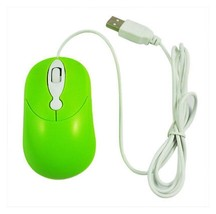 USB Mini Wired Optical Mouse For Computer Laptop PC Mice Green AF3