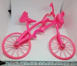 2007 MATTEL BARBIE PINK BICYCLE (PLASTIC) - $15.95