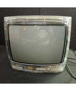 "Magnavox Clear See-Thru Prison Jail Tube CRTV TV, 14"", 13MT1532/17, 120v - $179.73"