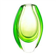 Vibrant Emerald Green Art Glass Vase - $24.95